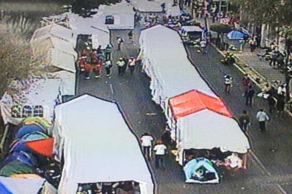 Las autoridades solicitaron a las personas tomar sus precauciones viales. Foto: Ovial