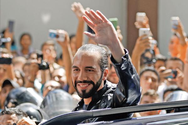 Nayib Bukele se convirtió en el presidente electo de El Salvador. Foto: Reuters