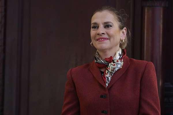 Beatriz Gutiérrez Müller, esposa del Presidente de México y presidenta honoraria del proyecto Memoria Histórica y Cultural de México.  FOTO: CUARTOSCURO
