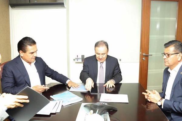 Aureoles presentó también las acciones del Plan de Coordinación para la Construcción de la Paz iniciadas en la capital, Morelia. Foto: Especial.