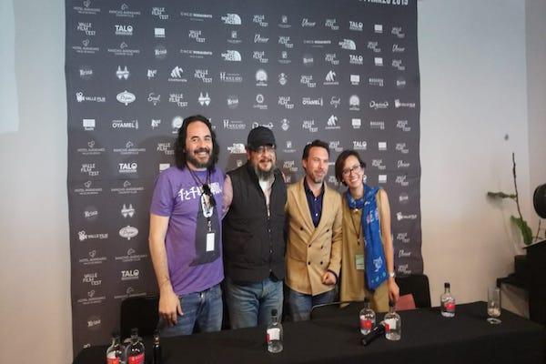 León Zimbrón participó en un panel sobre cine emergente en el Valle Film Fest. Foto: Maricela Paz