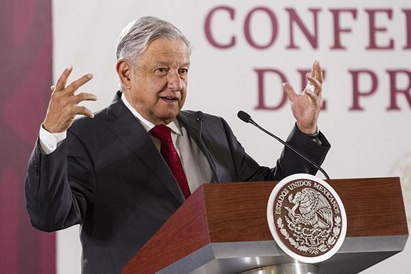 López Obrador aseguró que sabe separar su vida personal y familiar con su responsabilidad públicas. FOTO: NOTIMEX