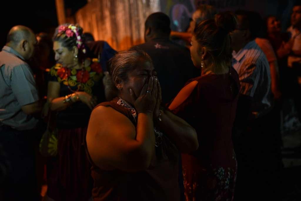 La masacre cobró la vida ya de 14 personas, entre ellas un bebé de un año. Foto: Cuartoscuro