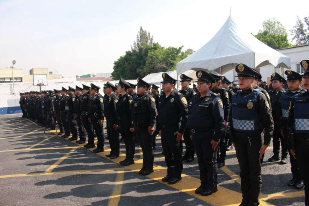 En el operativo participaron 10 mil 982 elementos de la policía Metropolitana, Auxiliar, Bancaria e Industrial, puestos de mando, entre otros