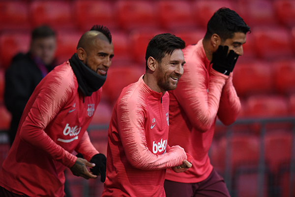 El partido contra el United se perfila como la mejor ocasión para tratar de romper este gafe en un encuentro que Valverde calificó de
