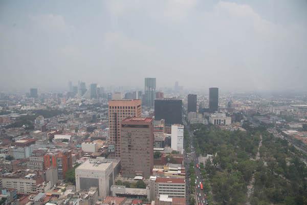 Calidad del aire CDMX y Edomex