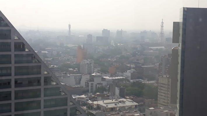 Mala calidad del aire Ecatepec 29 de mayo