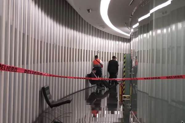 """Un """"libro bomba"""" que llegó a la oficina de la senadora Citlali Hernández estalló esta tarde en el Senado de la República. FOTO: ESPECIAL"""