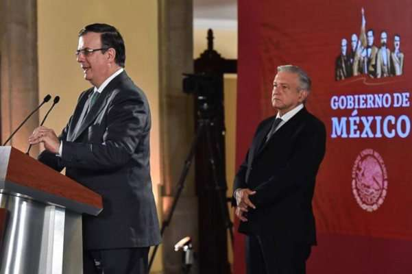 AMLO López Obrador Ebrard