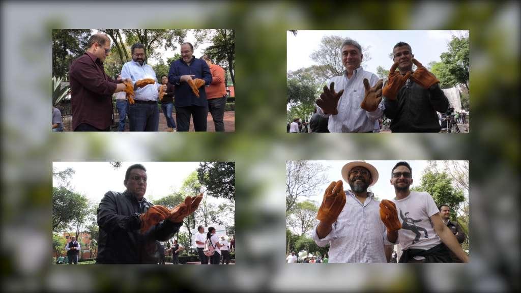 Grupo Andrade y El Heraldo de México participan en jornada del Reto Verde