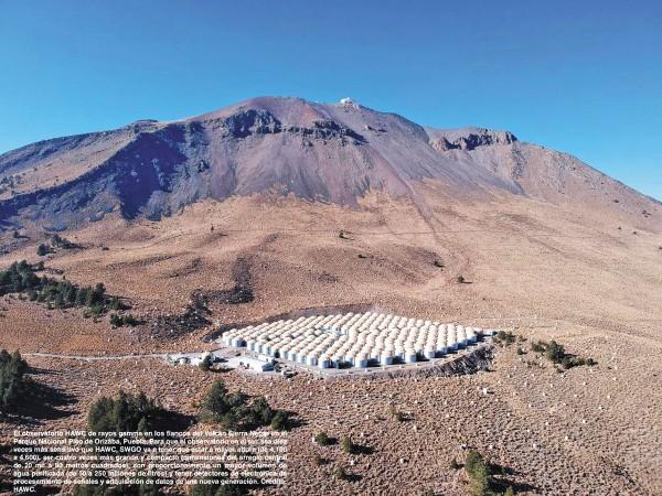 El primer observatorio especializado se encuentra en la Sierra Negra de Puebla. Foto: Especial