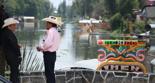 Habitantes de la alcaldía Xochimilco.