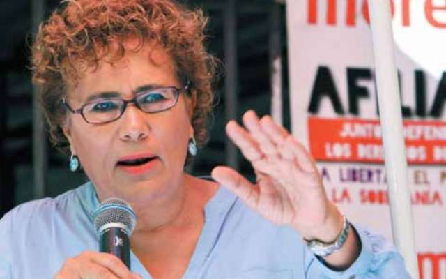 CONFIANZA. La morenista sostiene que el proceso fortalecerá al partido. Foto: CUARTOSCURO.