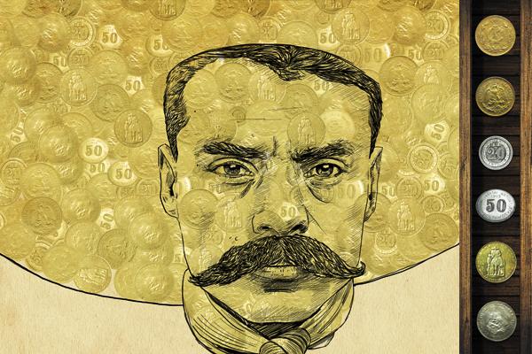 Las monedas fueron declaradas ilegales por un decreto de 1916. Ilustración: Allan G. Ramírez.