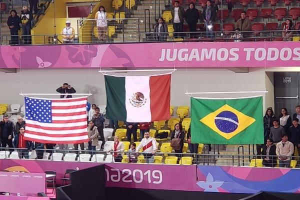De la delegación mexicana, las atletas destacaron al llegar a podio en distintas disciplinas. Foto: Conade