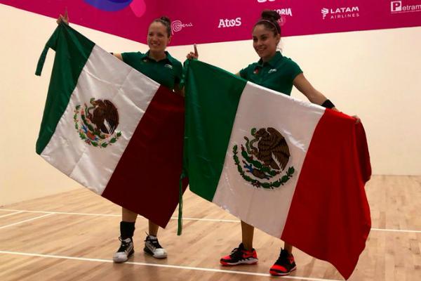 México se ubica en el tercer lugar del medallero. Foto: Especial.