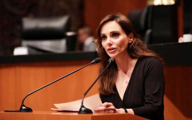 Lilly Téllez propone la reducción del 70% de recursos a partidos políticos