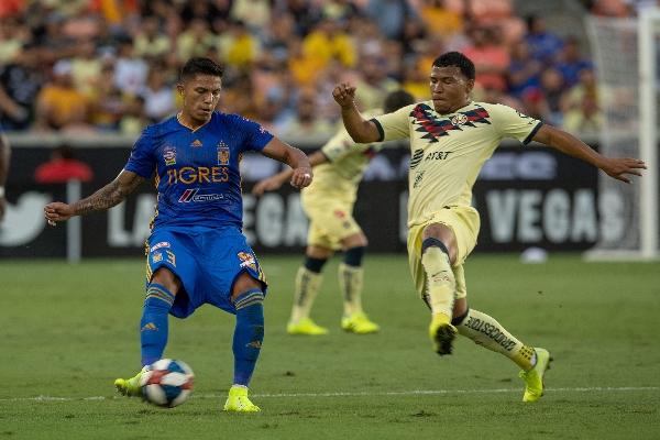 América vs Tigres, Correspondiente a Semifinales de Leagues Cup 2019, el 20 de Agosto de 2019. Foto: MEXSPORT