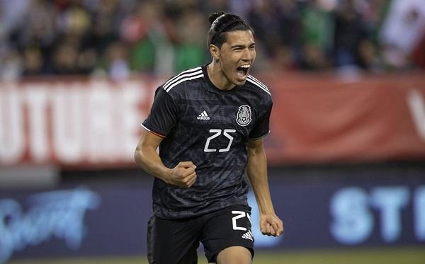 Gutiérrez marcó el segundo gol en la victoria que logró el Tri la noche del viernes sobre el representativo de Estados Unidos en duelo amistoso. Foto: Especial