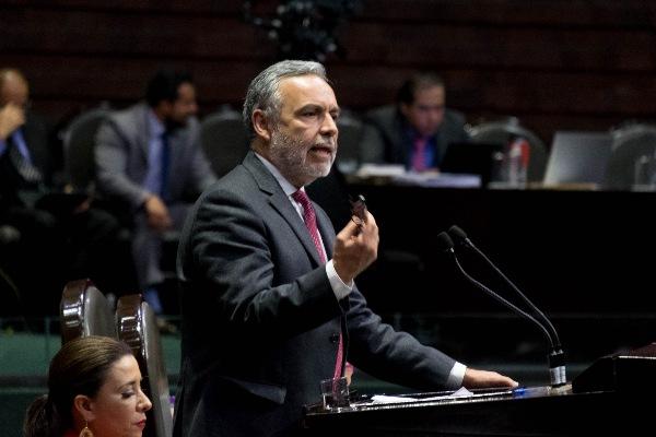 ALFONSO RAMÍREZ CUELLAR, PRESIDENTE DE LA COMISIÓN DE PRESUPUESTO DE LA CÁMARA DE DIPUTADOS FOTO: GRACIELA LÓPEZ /CUARTOSCURO.COM