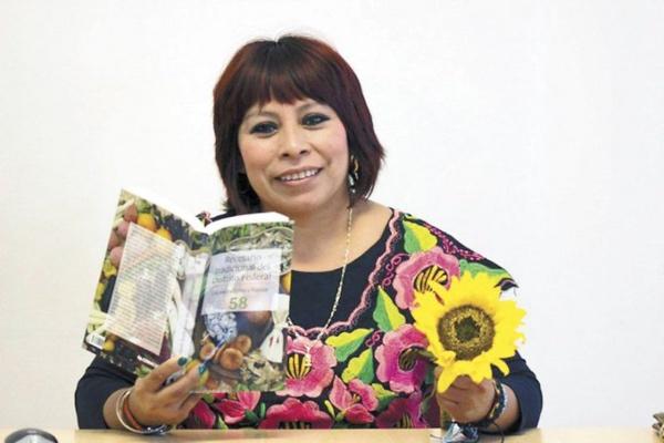 Poeta mexicana de origen maya.   Foto: Twitter @FILGuadalajara