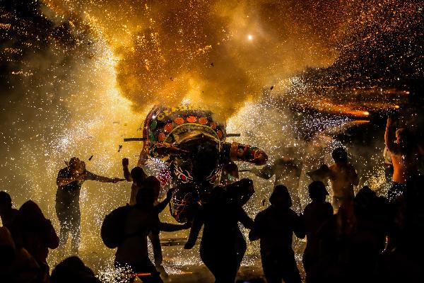 Pirotecnia fiestas patrias Tulum