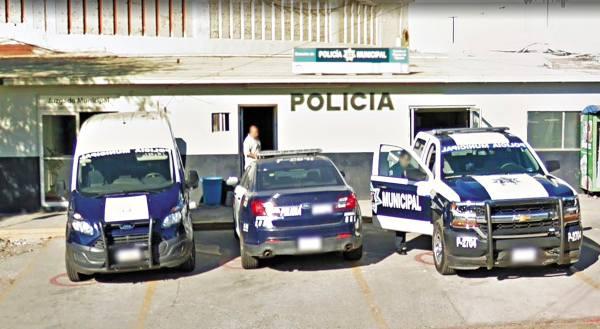 PAQUETE. La delegación de policía en Playas, Tijuana, es una de las nueve encargadas de la seguridad en el municipio. Foto: Especial.