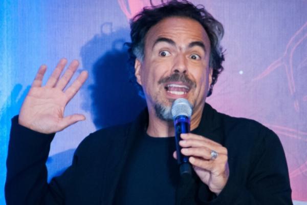 Alejandro González Iñárritu ofreció clase en la UNAM. Foto: Cuartoscuro