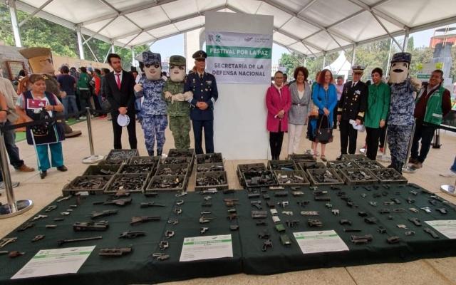 Gobierno de CDMX inaugura Festival por la Paz