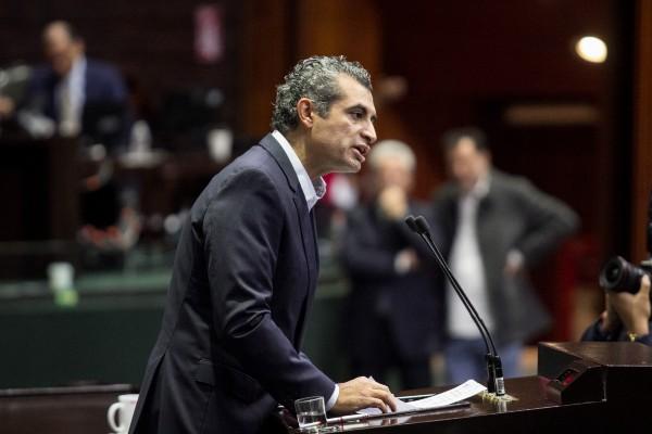 Enrique Ochoa Reza, diputado priista. Foto: Cuartoscuro