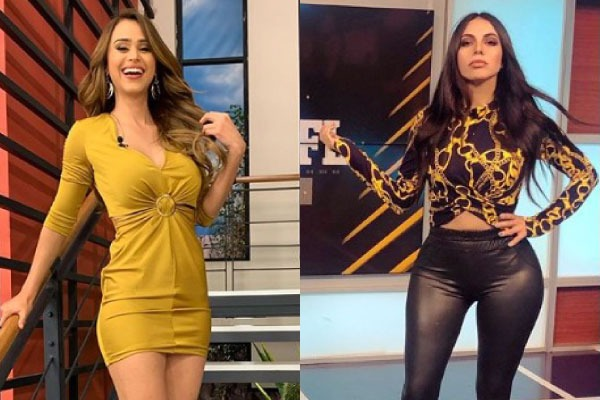Jimena sanchez vs Yanet garcia sexy looks en rosa fotos