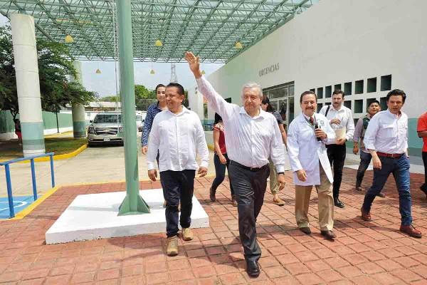 VISITA. El presidente López Obrador realizó una gira de trabajo por Guerrero. Foto: Especial