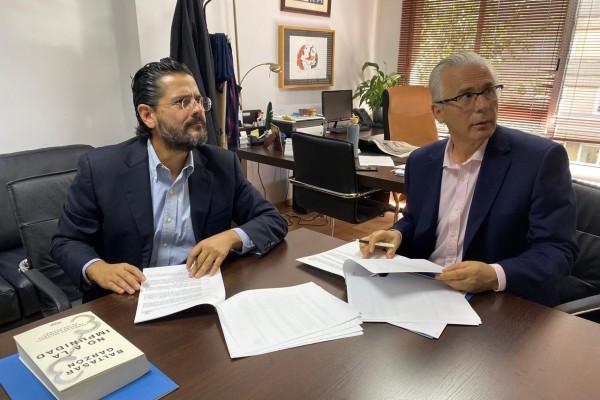 La firma del convenio fortalecerá el trabajo mutuo en pro de una jurisdicción universal. Foto: Especial