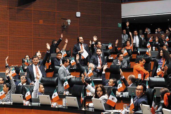 La reforma fue promovida y apoyada por la bancada de Morena, fue una de las  más numerosa en el Senado. Foto: Especial.