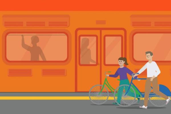 bicicleta metro todos los dias