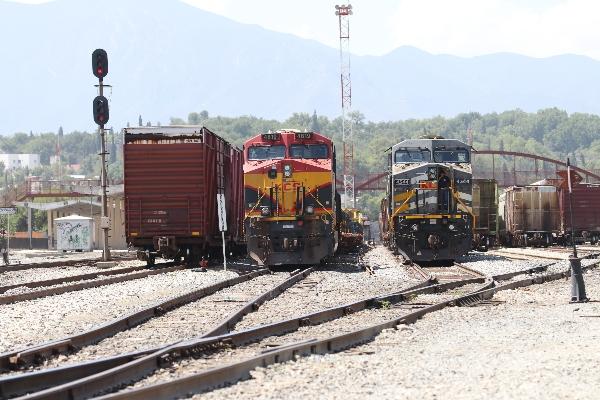 En Querétaro descarriló un tren de la empresa debido a un intento de robo.  FOTO: ALEJANDRO RODRÍGUEZ /CUARTOSCURO.COM