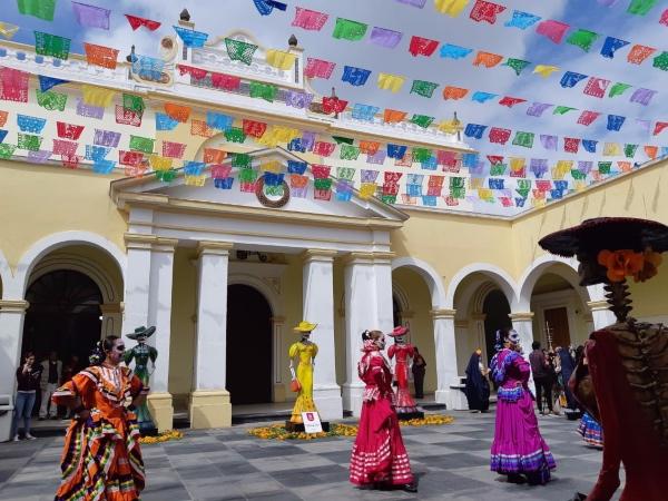 Previo al Festival, se realizará el domingo 27 la Procesión de los Muertos. Foto: Especial