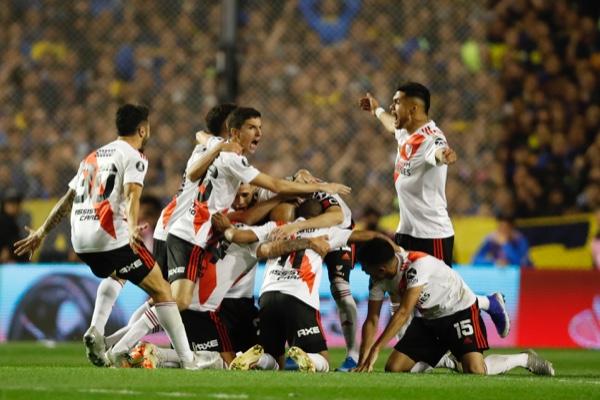 River Plate elimina por segundo año consecutivo en la Libertadores a Boca Juniors. AP