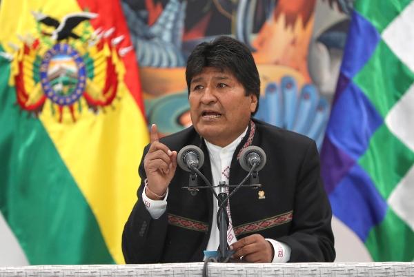 El presidente de Bolivia, Evo Morales. Foto: EFE