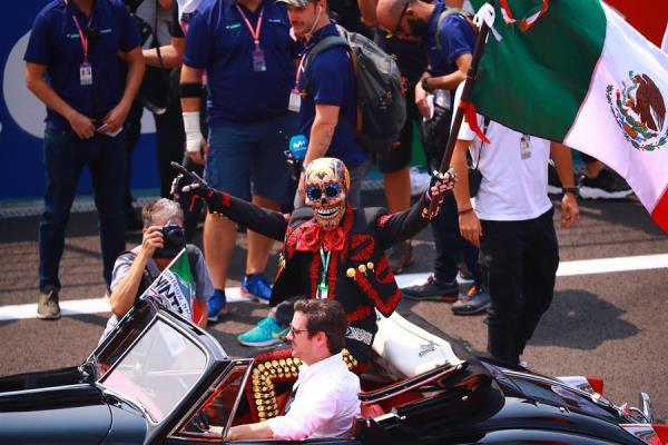 El Gran Premio de México 2019 fue inaugurado esta mañana. FOTO: EFE