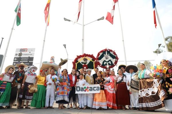 Oaxaca demostró su enorme cultura dentro del Gran Premio de México. Especial