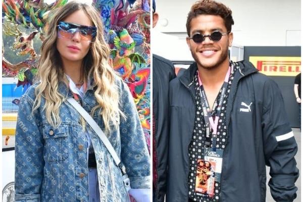 Belinda y Jonathan Dos Santos asistieron al Gran Premio de México. Jds Agencia