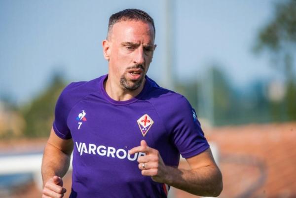 Franck Ribery, jugador de la Fiorentina. Foto: @FranckRibery