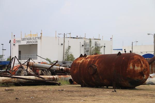 dos bocas terreno refineria no se inundo