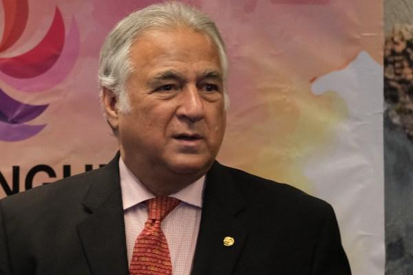 Miguel Torruco Marqués, secretario de Turismo,  FOTO: CUARTOSCURO