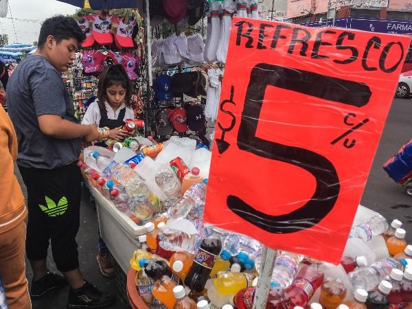 El consumo de refresco o bebidas azucaradas no ha disminuido pese al Impuesto Especial sobre Productos y Servicios (IEPS). FOTO: ANDREA MURCIA /CUARTOSCURO.COM