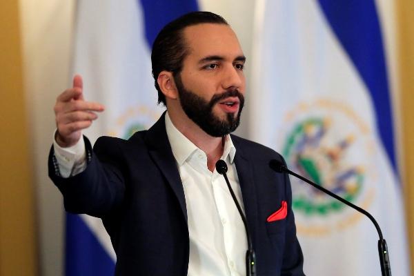 El presidente de El Salvador, Nayib Bukele. Foto: EFE
