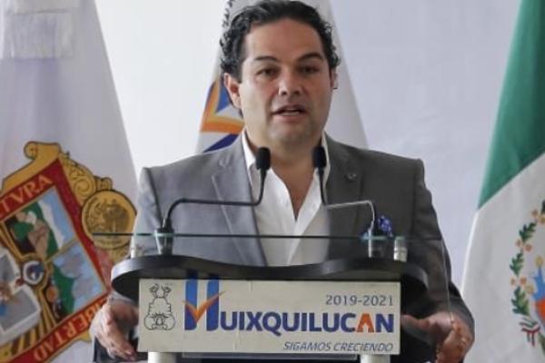 Enrique Vargas del Villar, presidente Constitucional del Municipio de Huixquilucan FOTO: TWITTER @EnriqueVargasdV