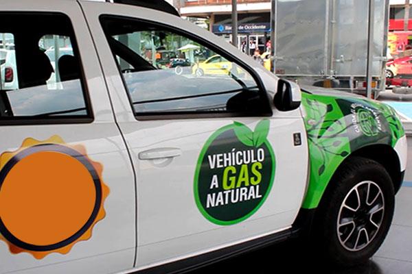Al menos un 70 por ciento de co2 se reduce con el gas natural. Foto: Especial