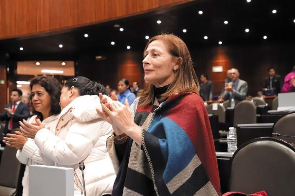 Al menos 31 diputados de morena (entre ellos Tatiana Clouthier) apoyaron el cambio. Foto: Especial